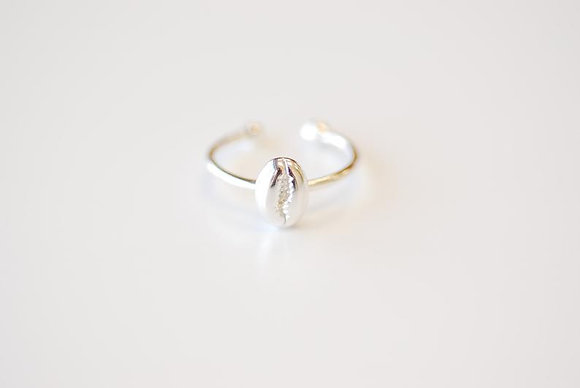 Ring Cowrie Silver