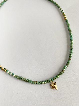 Halskette Golden Turtle