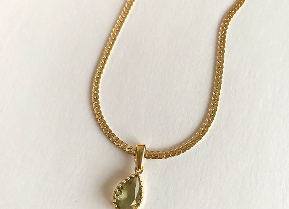 Halskette Olive