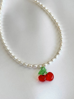 Perlenkette Cherry