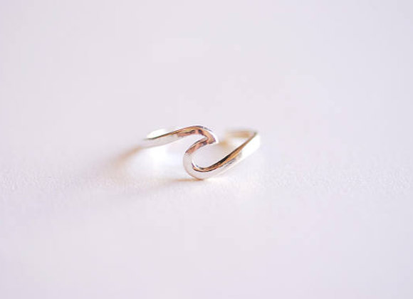 Ring Wave Silver