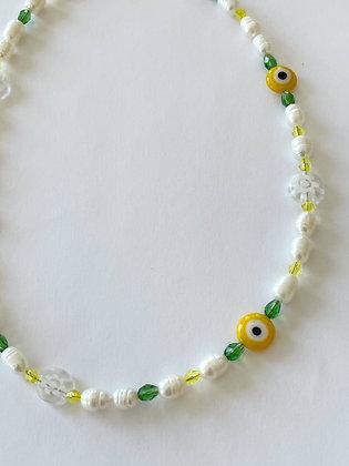 Perlenkette Lemon