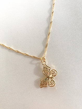 Halskette Butterfly gold