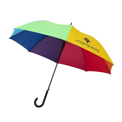 """Rainbow 23"""" automatische stormparaplu"""