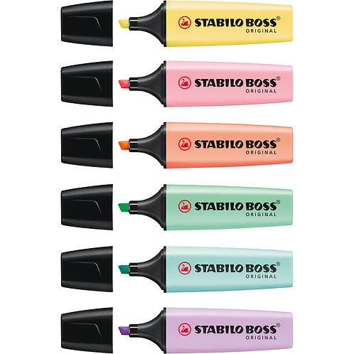 STABILO Boss Original Pastel Markeerstift