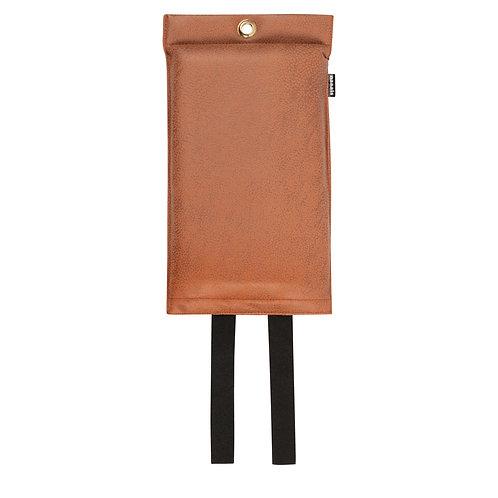 Naaais Vegan Cognac Blusdeken 120x180cm