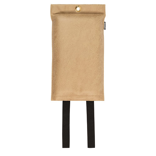 Naaais Vegan Caramel Blusdeken 120x180cm