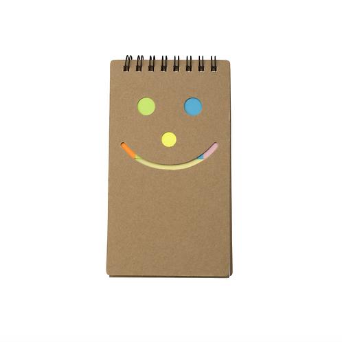 Notitie/memoboekje Smile