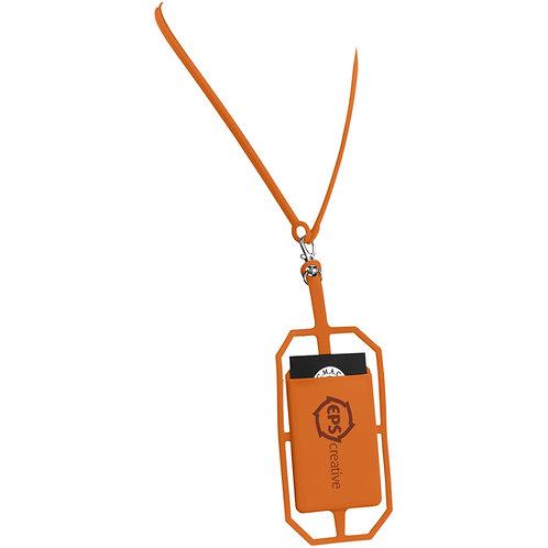 Siliconen RFID Kaarthouder met Lanyard