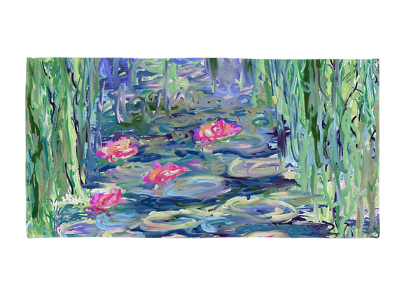"""""""Water Lily"""" 00.8 Towel"""