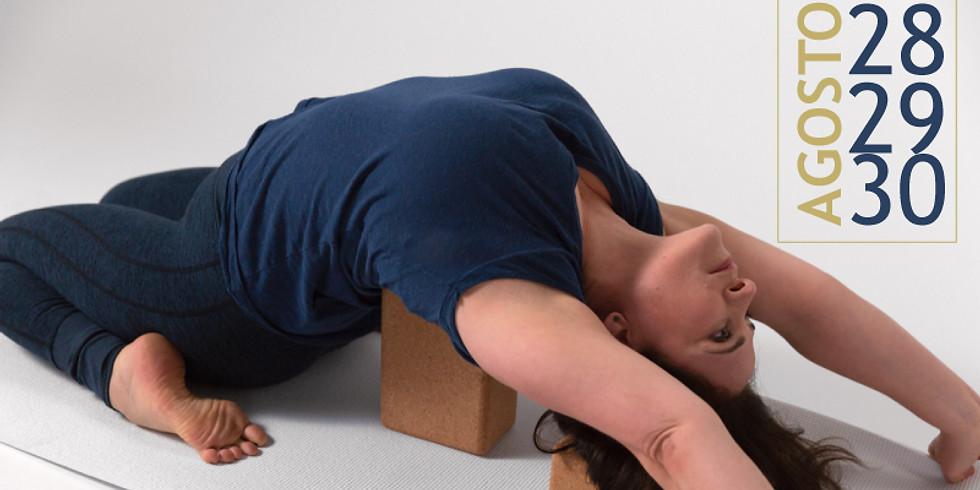 Taller de Yoga Iyengar en línea con Marla Apt