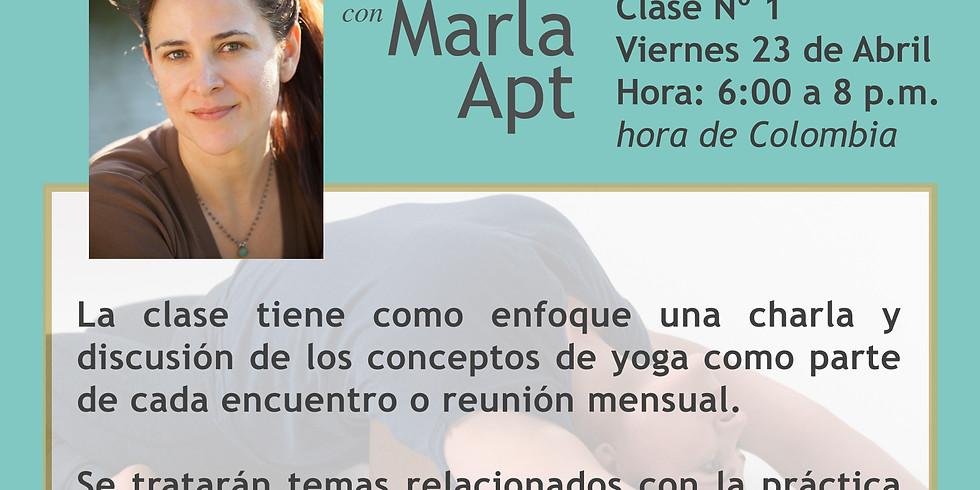PROGRAMA DE EDUCACIÓN CONTINUA CON MARLA APT con traducción al Español