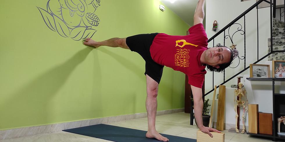 Masterclass: Potenciar y comprender los tres movimientos del torso en toda su amplitud.
