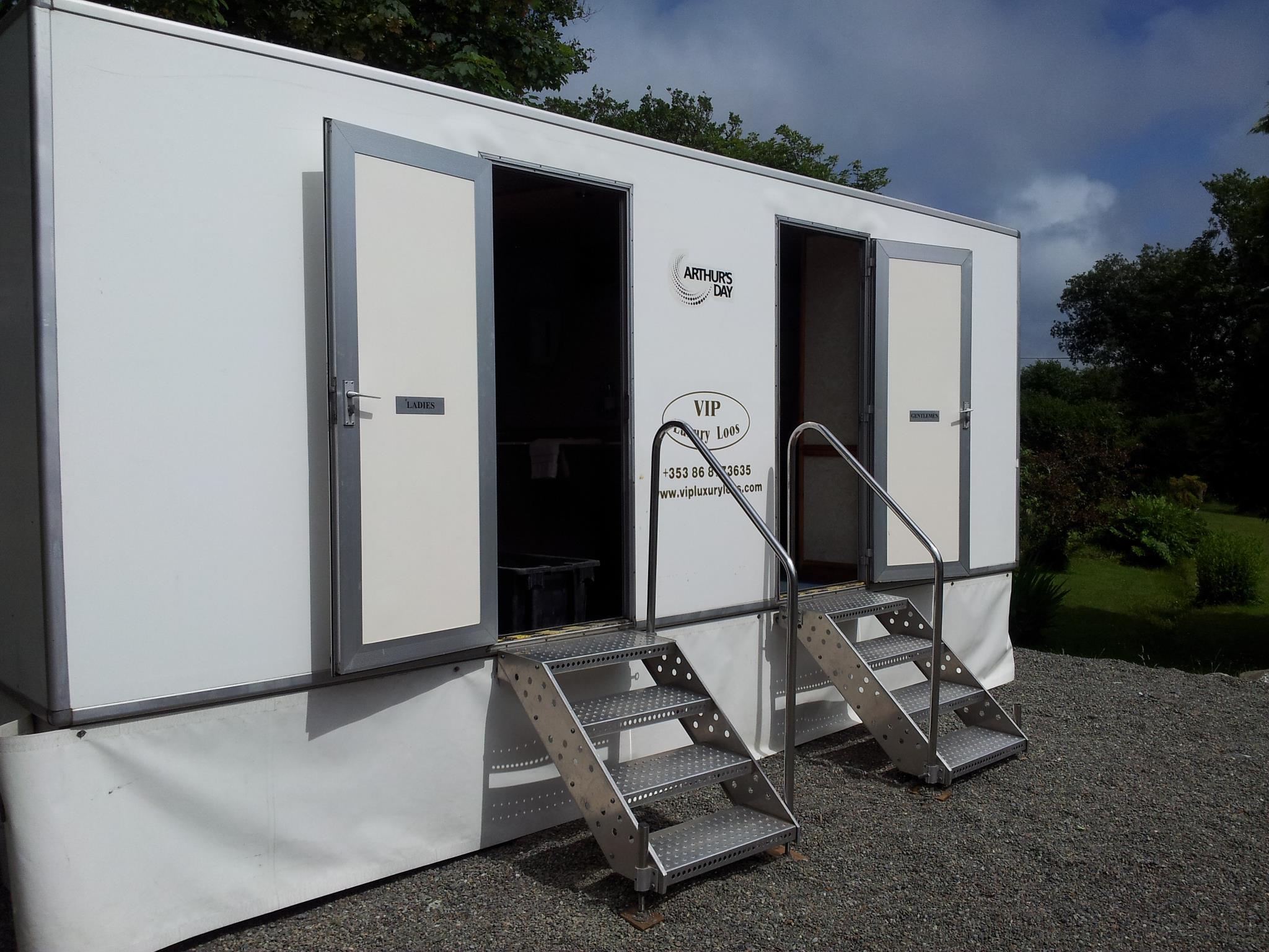 VIP Toilet Unit Exterior