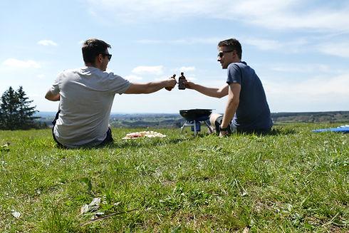 GrillHike - santé - activité nature randonnée dans les Hautes-Fagnes - randonner avec barbecue