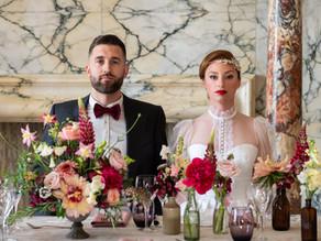 Alternative Wedding Inspiration with Art Elegance