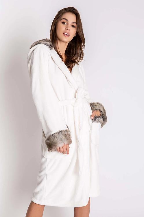 Ivory Aspen Robe