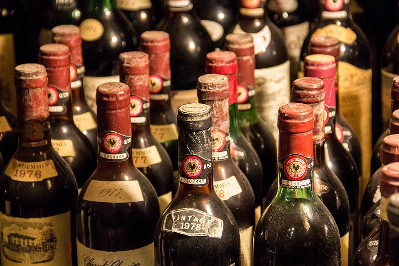 vechie bottiglie chianti