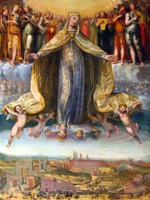 Vergine della battaglia di Camollia