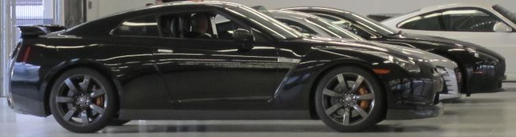 Testing the Nissan GTR