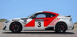 MAT- SPEER GT86 Rally Car