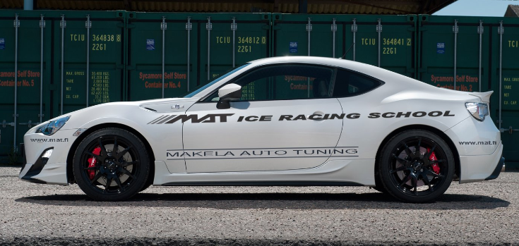 MAT Ice Racing School