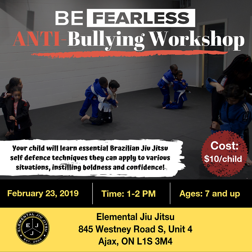 Be Fearless Anti-Bullying Workshop (1)
