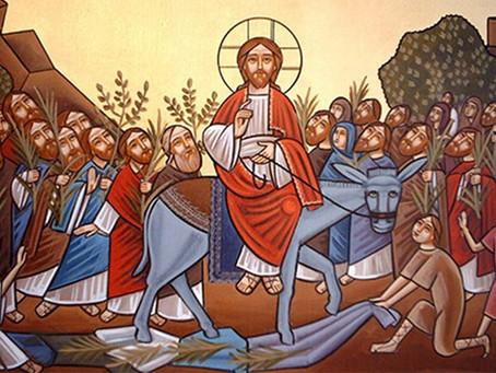 Preken biskop Erik palmesøndag