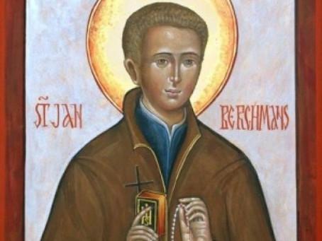 Dagens helgen 26.11 Johannes Berchmanns