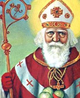 Dagens helgen 06.12.20 - Den hellige Nikolas av Myra