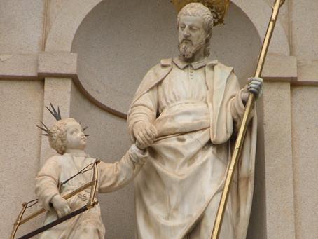 Karmels hage 10: St Josef