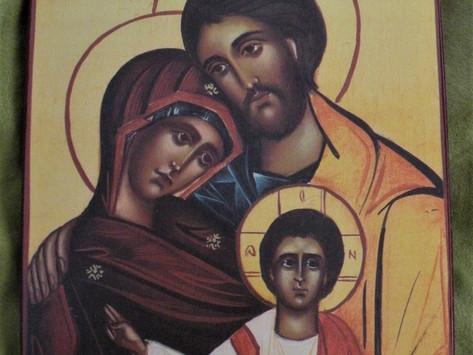 Karmels hage episode 2: Den hellige familie Maria og Josef
