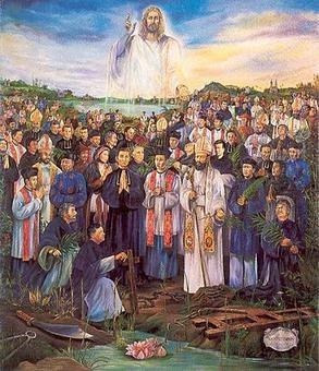 Dagens helgen - 117 hellige vietnamesiske martyrer