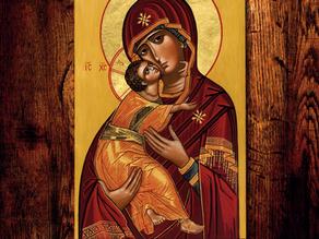 Til Vår Frues pris - Jomfru Marias opptagelse i himmelen
