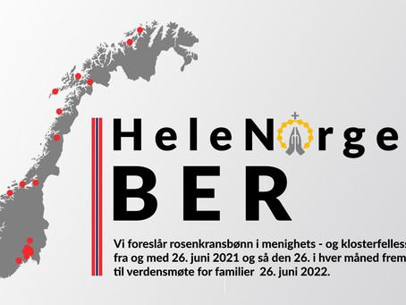 Hele Norge ber