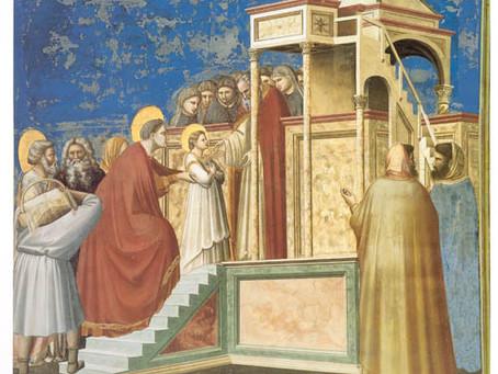 Dagens helgen 21.11.20 - Jomfru Marias fremstilling i tempelet