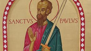 Novenen til den hellige Paulus dag 3 (Søndag 17.01.21)