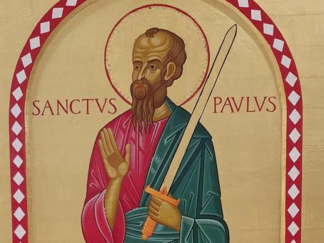 Novenen til den hellige Paulus dag 9 (Lørdag 23.01.21)