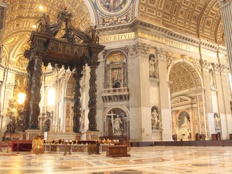 Dagens helgen 18.10.20 - Vigselsfesten for Peter og Paulus` basilikaer i Roma