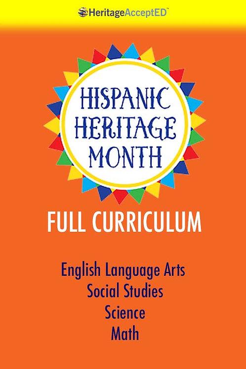 Hispanic Heritage Month Full Curriculum