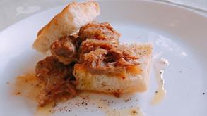 プーリアのお料理:オレキエッテ、豚のビネガー煮込みなど