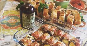 自家製ビスコッティ、お野菜たっぷりのピクニックメニュー