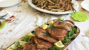 ローマの伝統の味: サルティンボッカ、クロスタータ他