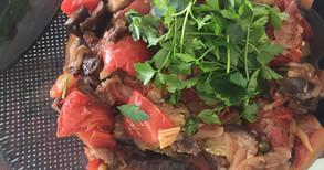 イタリア伝統常備菜 カポナータ、ライスサラダ他