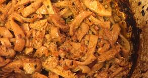 ハチノスのフィレンツェ風煮込み、イチジクのレアチーズケーキ他