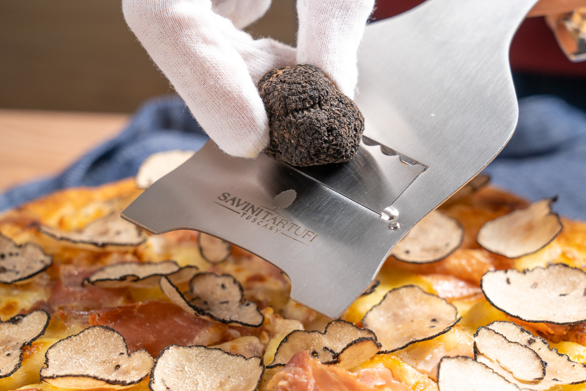 Add a whole fresh truffle for $268