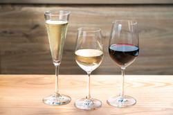 Add house white/red wine or Prosecco