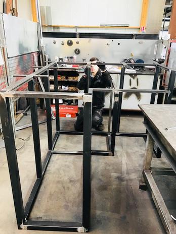 fabrication ossature bar