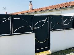 Portillon - clôture