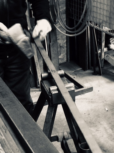 redressage en atelier